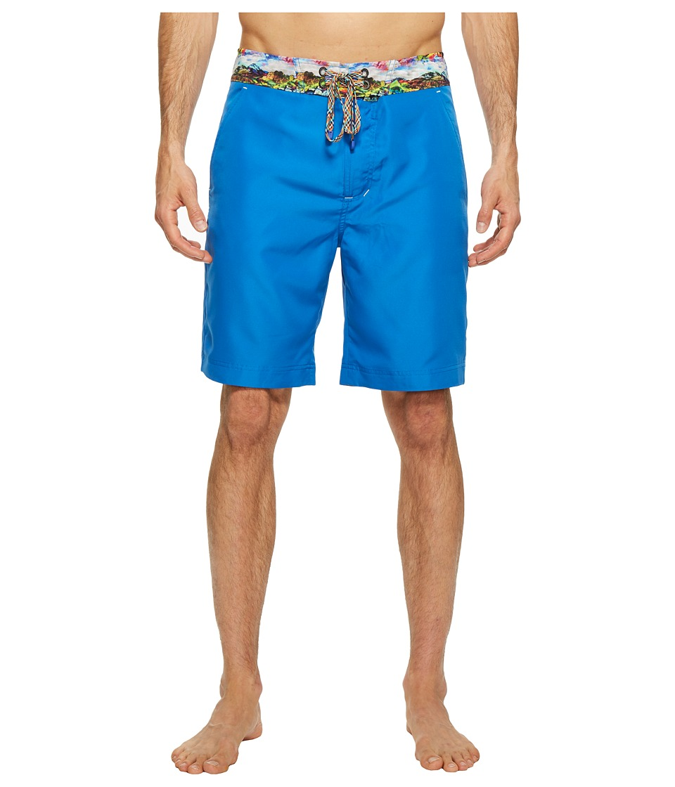 Robert Graham - Boundless (Medium Blue) Men's Swimwear