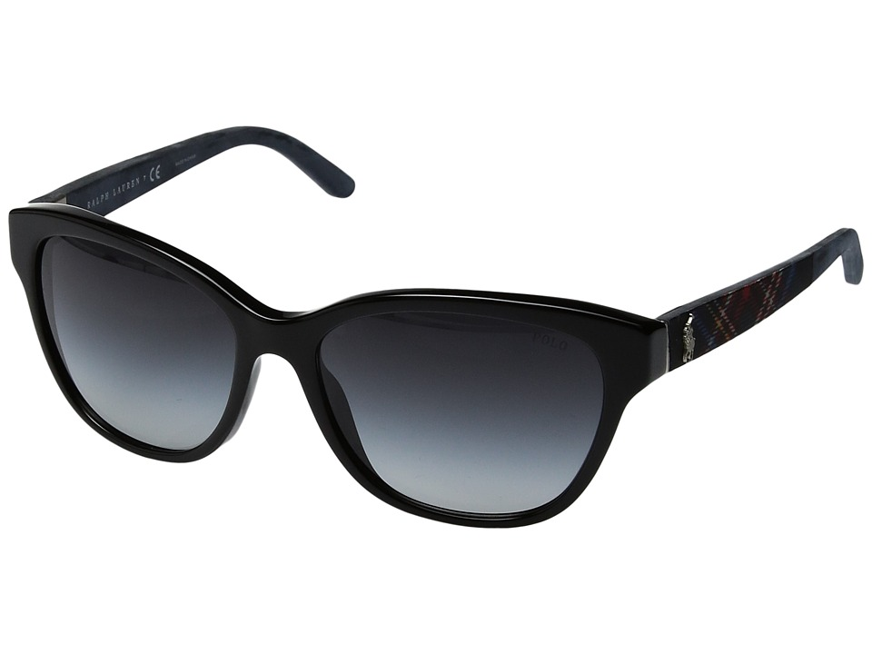 Polo Ralph Lauren - 0PH4093 (Black) Fashion Sunglasses