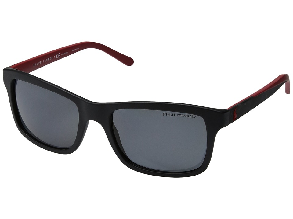 Polo Ralph Lauren - 0PH4095 (Black 1) Fashion Sunglasses