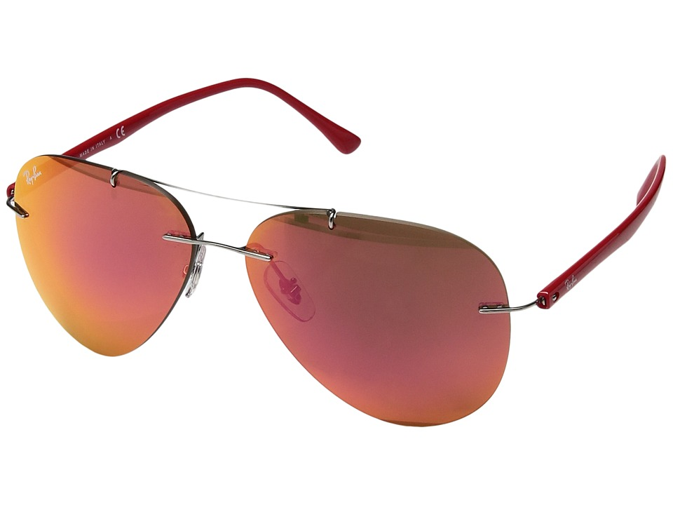 Ray-Ban - 0RB8058 (Red) Fashion Sunglasses