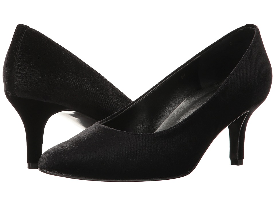 Vaneli - Laureen (Black Velvet) Women's Shoes
