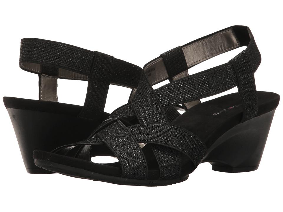 Bandolino - Chakor (Black Fabric) Women's Shoes