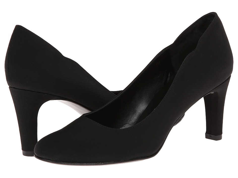 Vaneli - Ursilla (Black Pesca Fabric) Women's Shoes