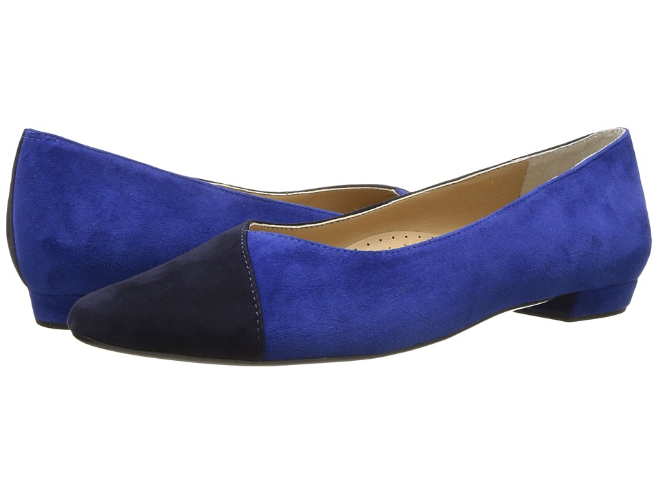 Vaneli - Ganesa (Jordan Blue Suede/Navy Suede) Women's Shoes