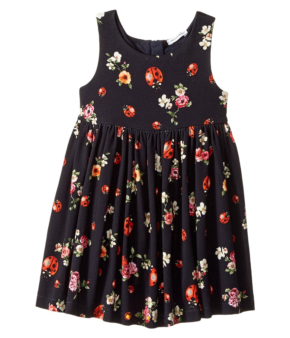 Dolce & Gabbana Kids Back To School Floral Dress