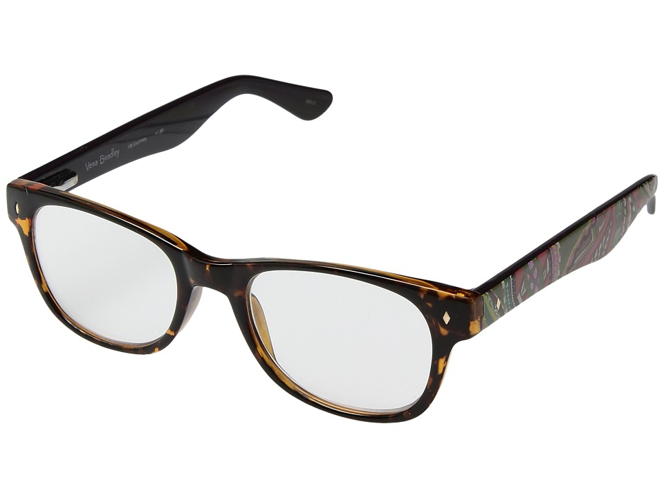 Vera Bradley - Courtney (Heirloom Paisley/Tortoise) Reading Glasses Sunglasses