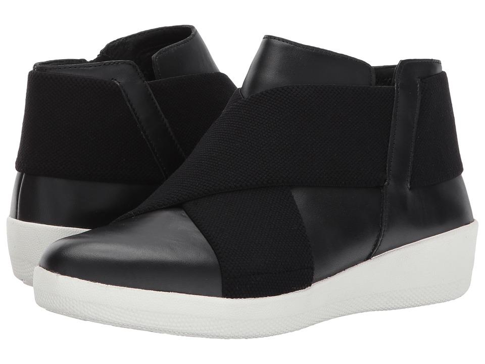 FitFlop Superflex Ankle Boots (Black) Women