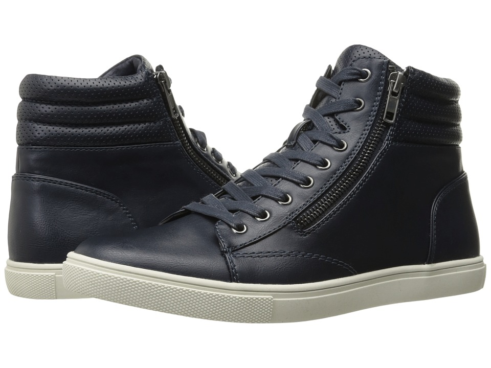 Steve Madden - Levers (Navy) Men's Shoes