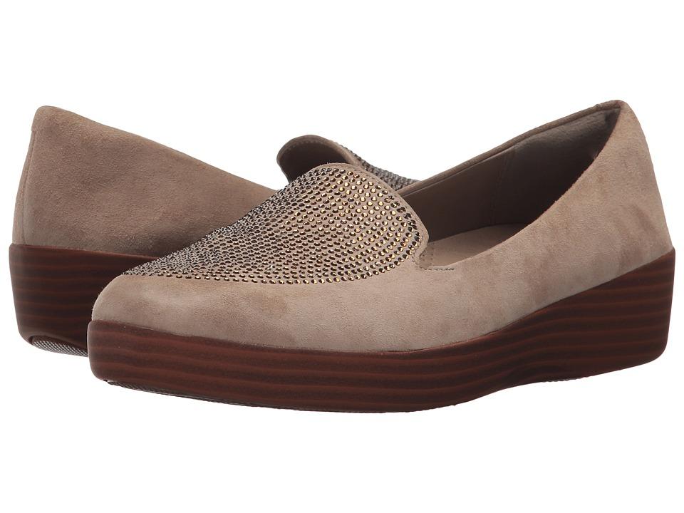 FitFlop Sparkly Sneakerloafer (Desert Stone) Women