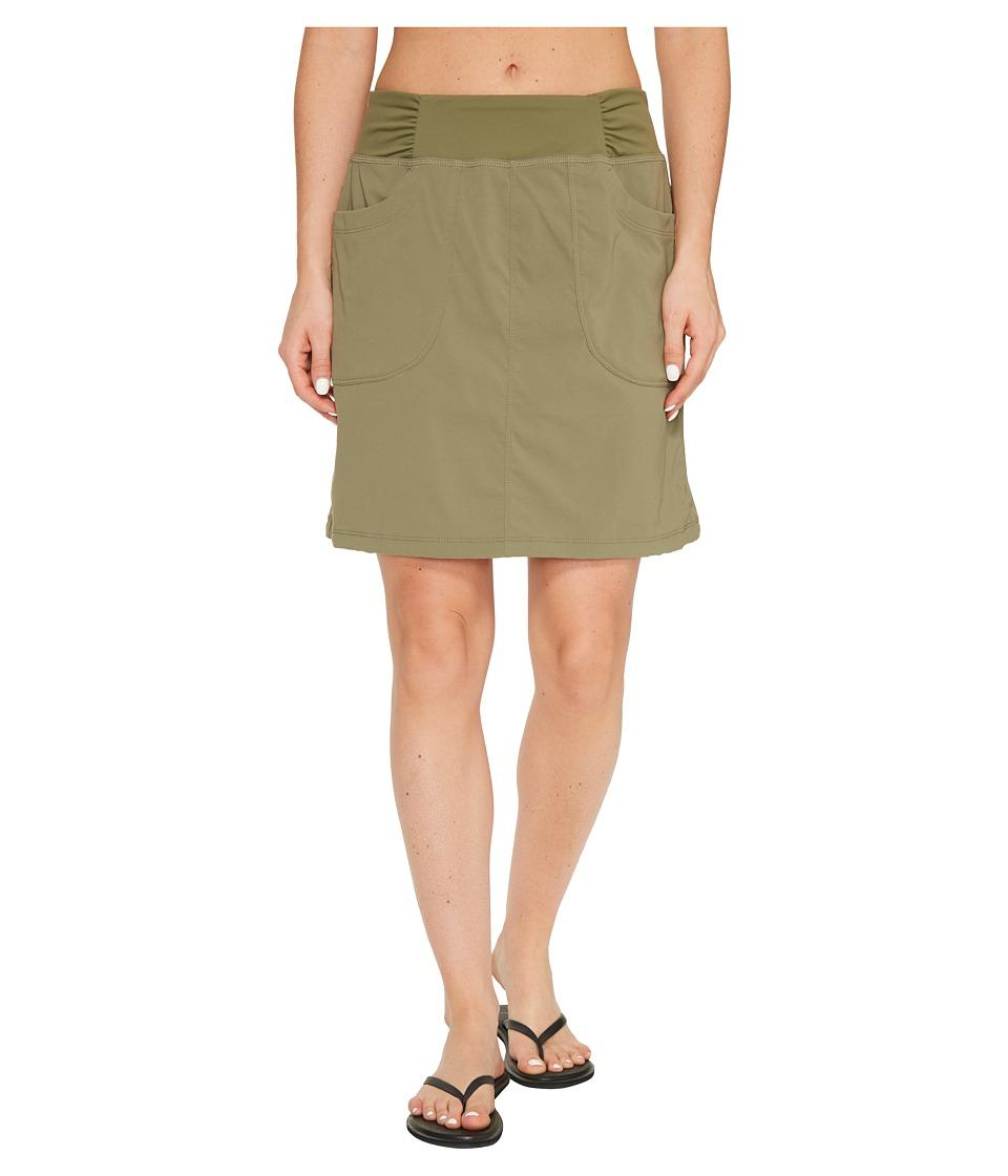 Mountain Hardwear - Dynamatm Skirt (Stone Green) Women's Skirt