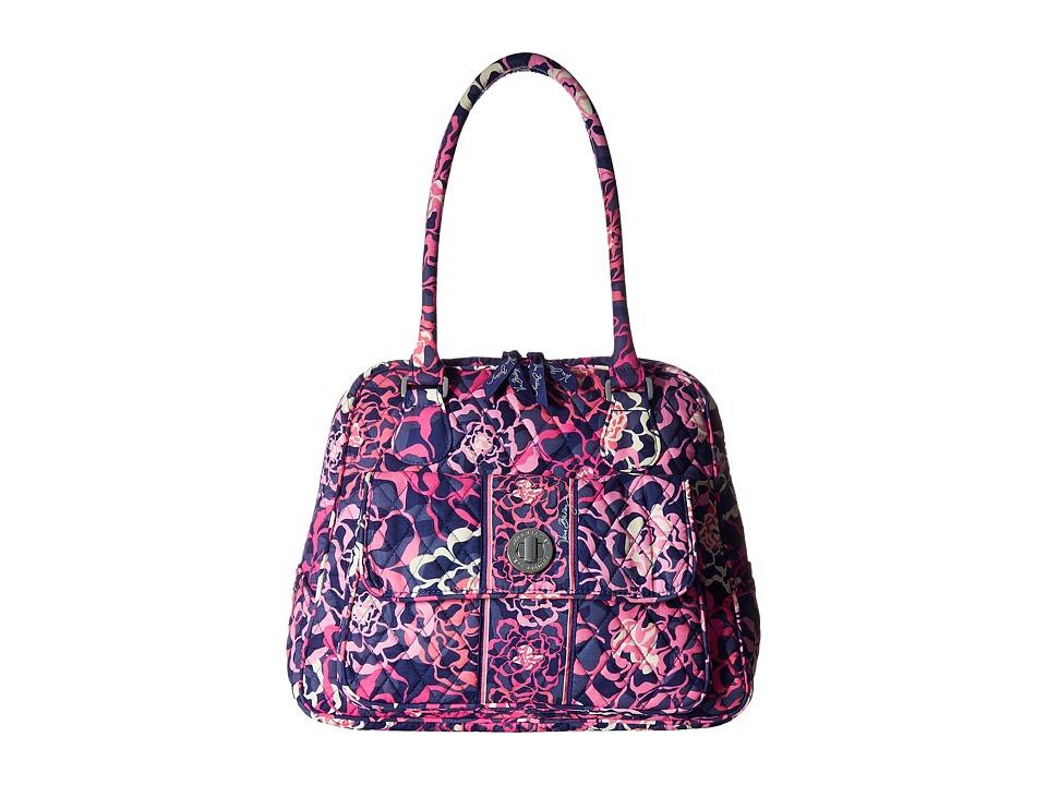 Vera Bradley - Turnlock Satchel (Katalina Pink) Satchel Handbags