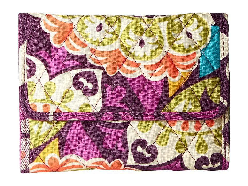 Vera Bradley - Euro Wallet (Plum Crazy) Wallet Handbags