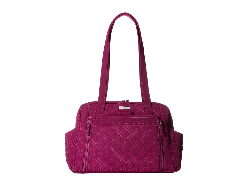 Vera Bradley - Stroll Around Baby Bag (Plum) Diaper Bags