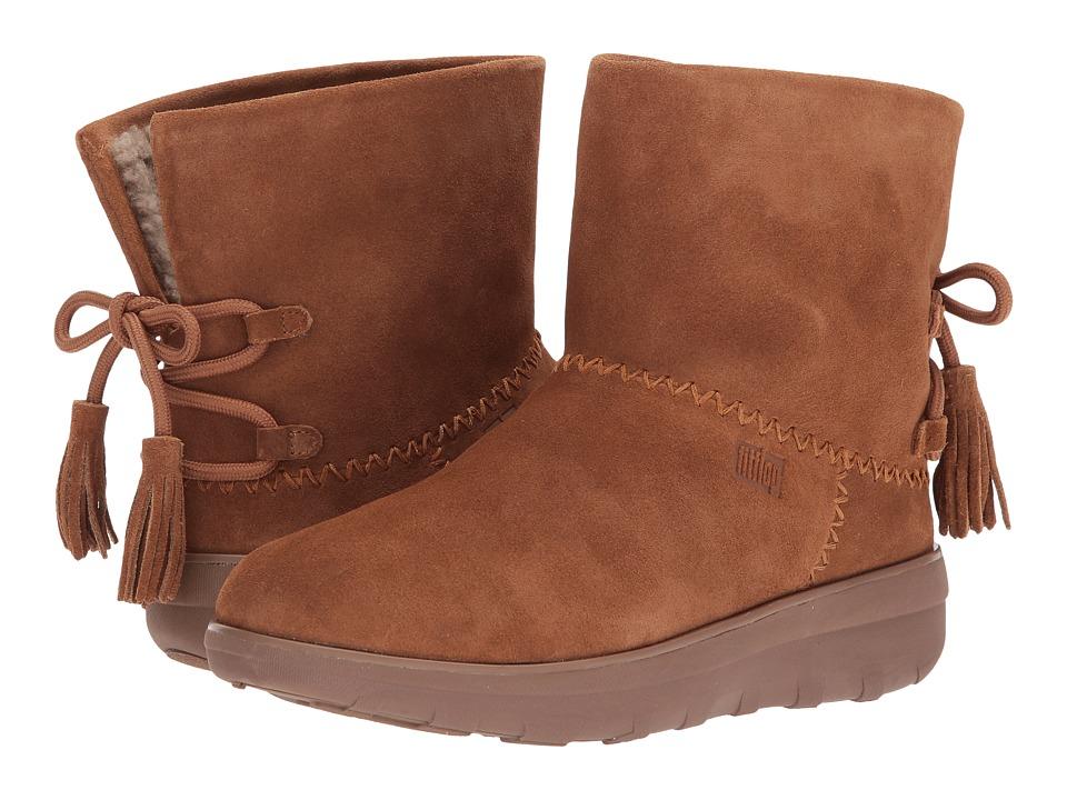 FitFlop Mukluk Shorty II Boots w/ Tassels (Chestnut) Women