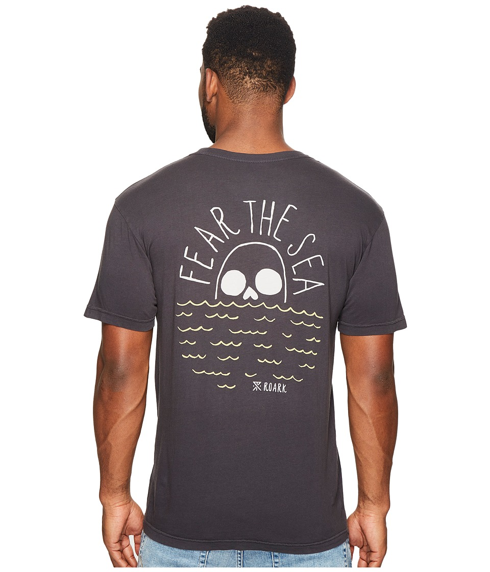 Roark - Fear the Sea Short Sleeve T-Shirt (Black) Men's T Shirt