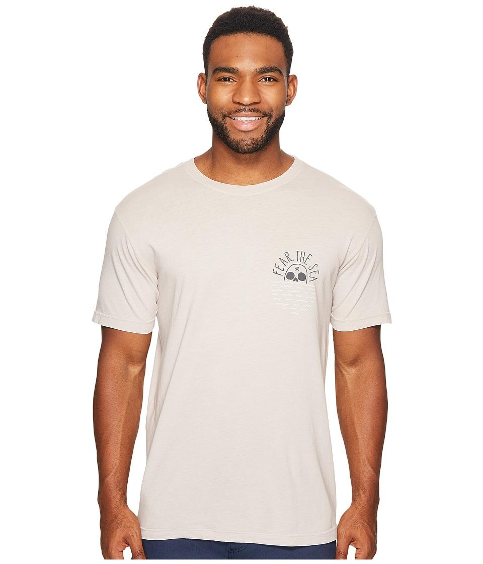 Roark - Fear the Sea Short Sleeve T-Shirt (Grey) Men's T Shirt