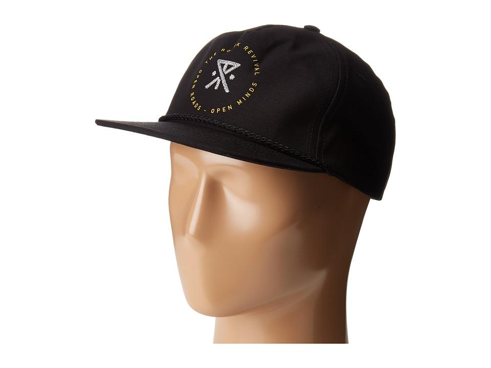 Roark - Standard Hat (Black) Caps