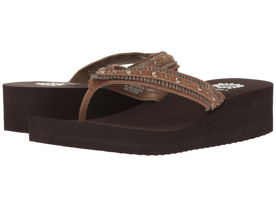 Yellow Box - Mallika (Chestnut) Women's Sandals