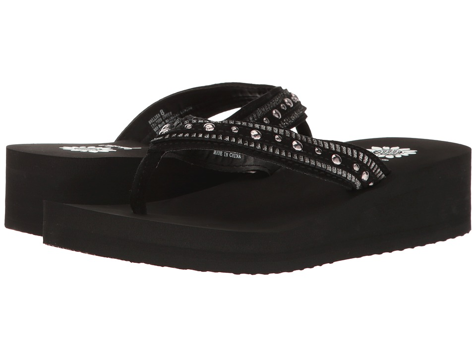 Yellow Box - Mallika (Black) Women's Sandals