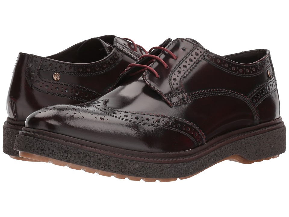 Image of Base London - Clash (Bordo) Men's Shoes