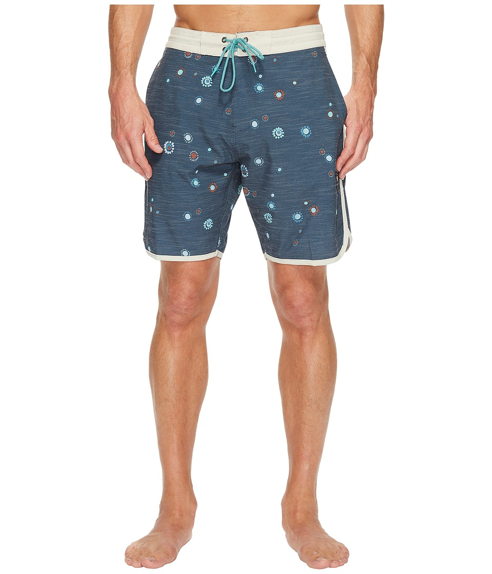 VISSLA Motu 18.5 Boardshort (Dark Naval) Men