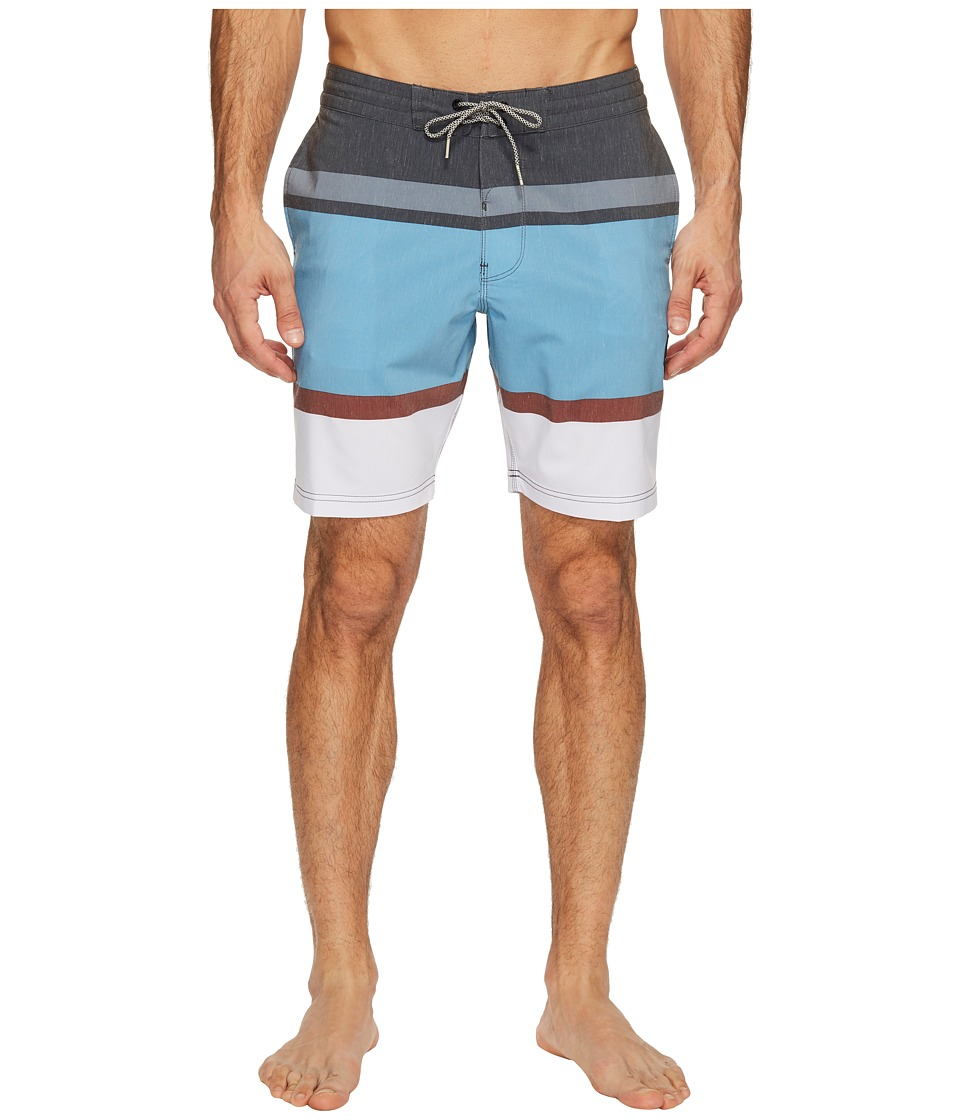 VISSLA Waterline 18.5 Boardshort (Phantom) Men
