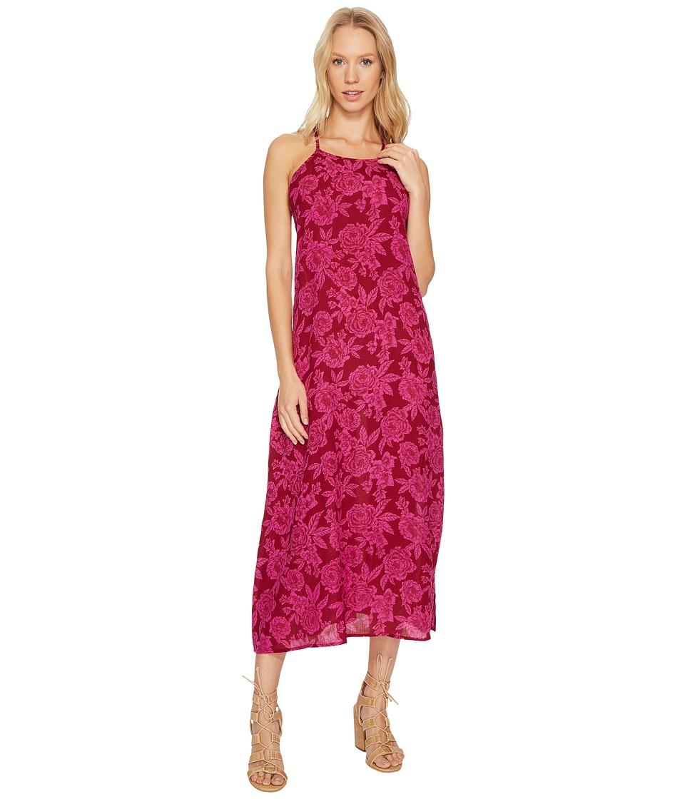 Billabong Dream To Dream Dress (Pomegranate) Women