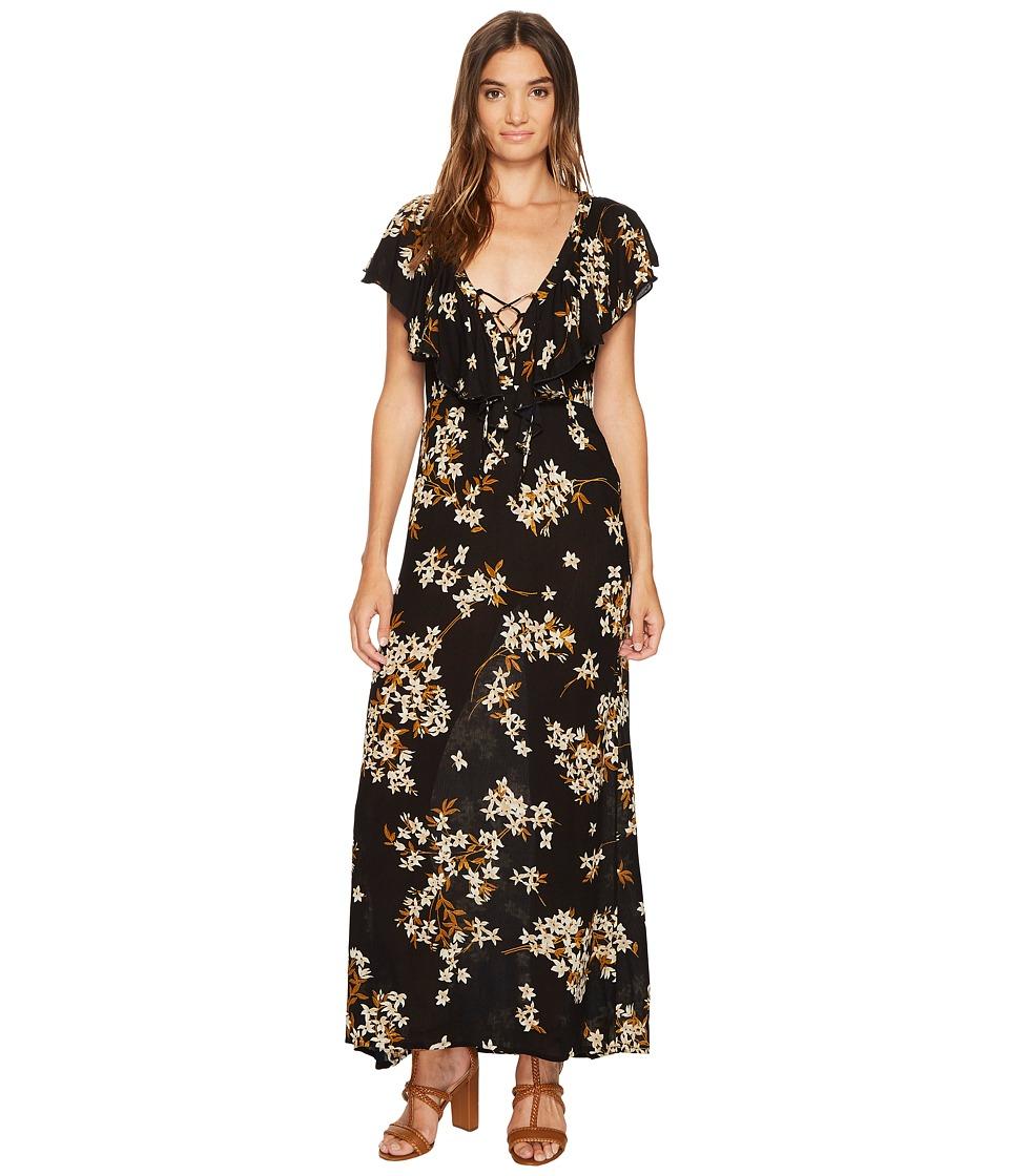 Amuse Society Alana Dress (Black) Women