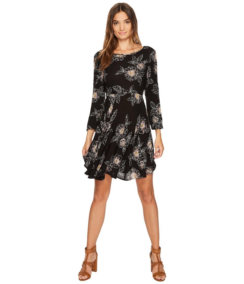 Amuse Society Steller Dress (Black) Women