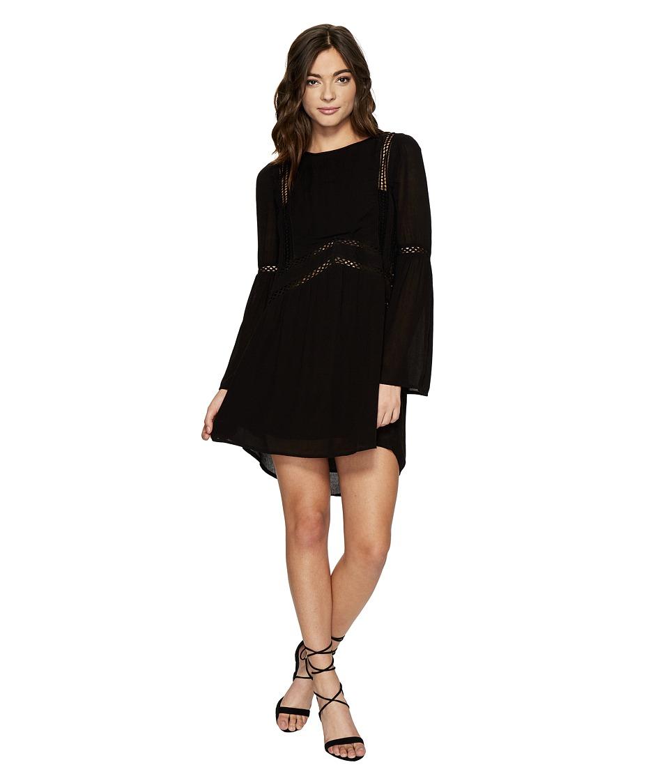 Amuse Society Kensington Dress (Black) Women