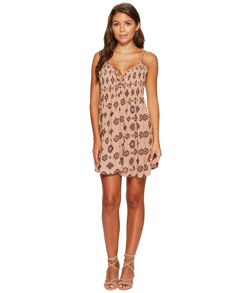 Amuse Society Baja Dress (Desert Rose) Women