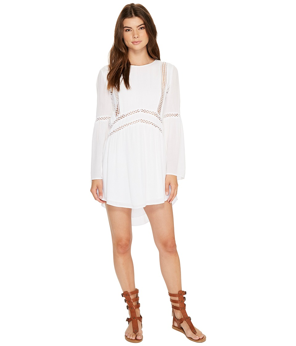 Amuse Society - Kensington Dress (White) Women's Dress