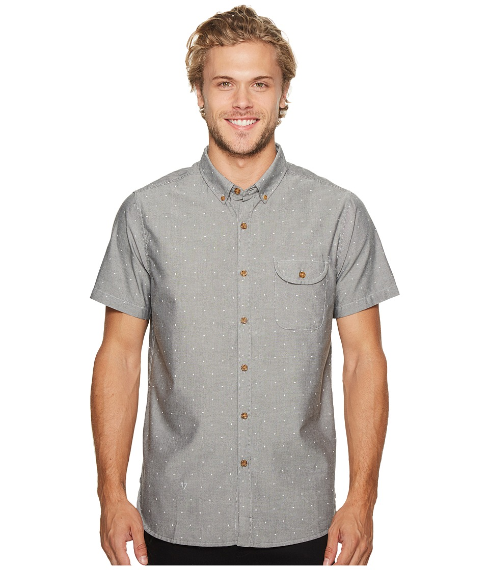 VISSLA - The Hook Woven (Black) Men's Clothing