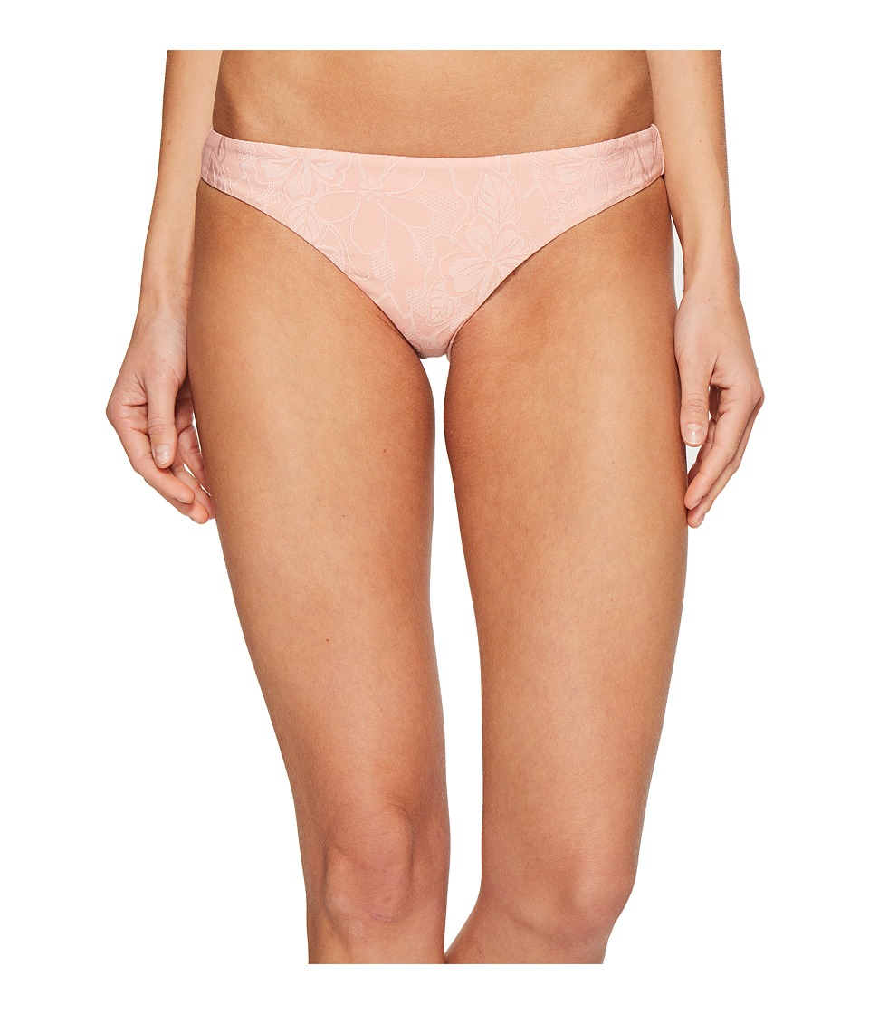 Amuse Society Violah Skimpy Bikini Bottom (Desert Rose) Women