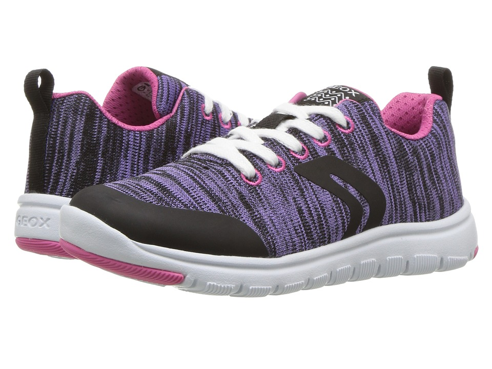 Geox Kids - JR Xunday Girl 2 (Little Kid) (Lilac) Girl's Shoes