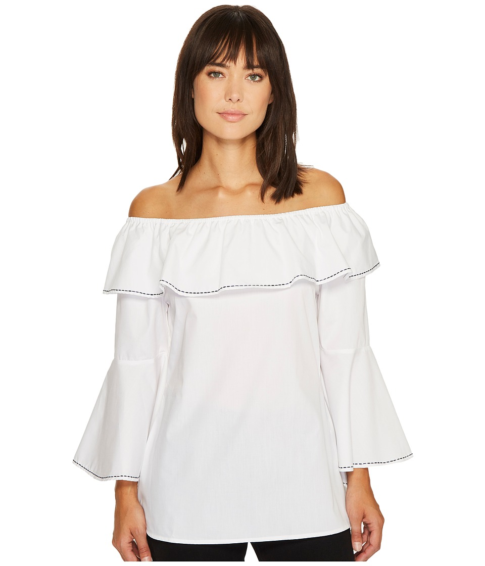 Union of Angels - Loreal Tunic (White) Women's Clothing