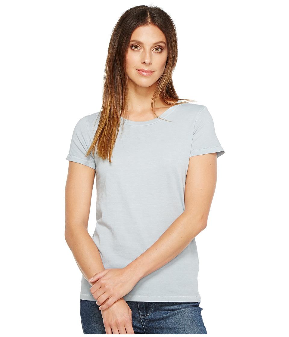 Alternative - Cotton Jersey Vintage Tee (Light Blue Pigment) Women's T Shirt