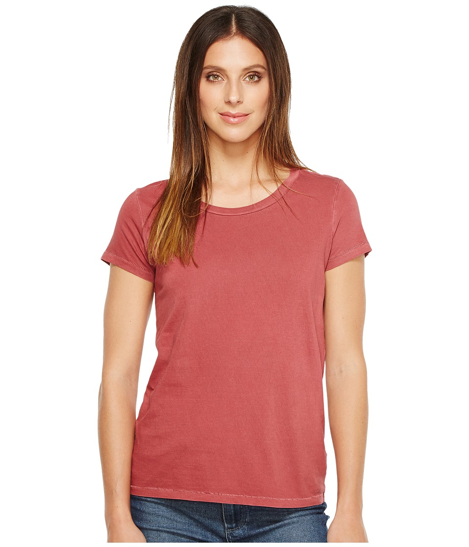 Alternative - Cotton Jersey Vintage Tee (Red Pigment) Women's T Shirt