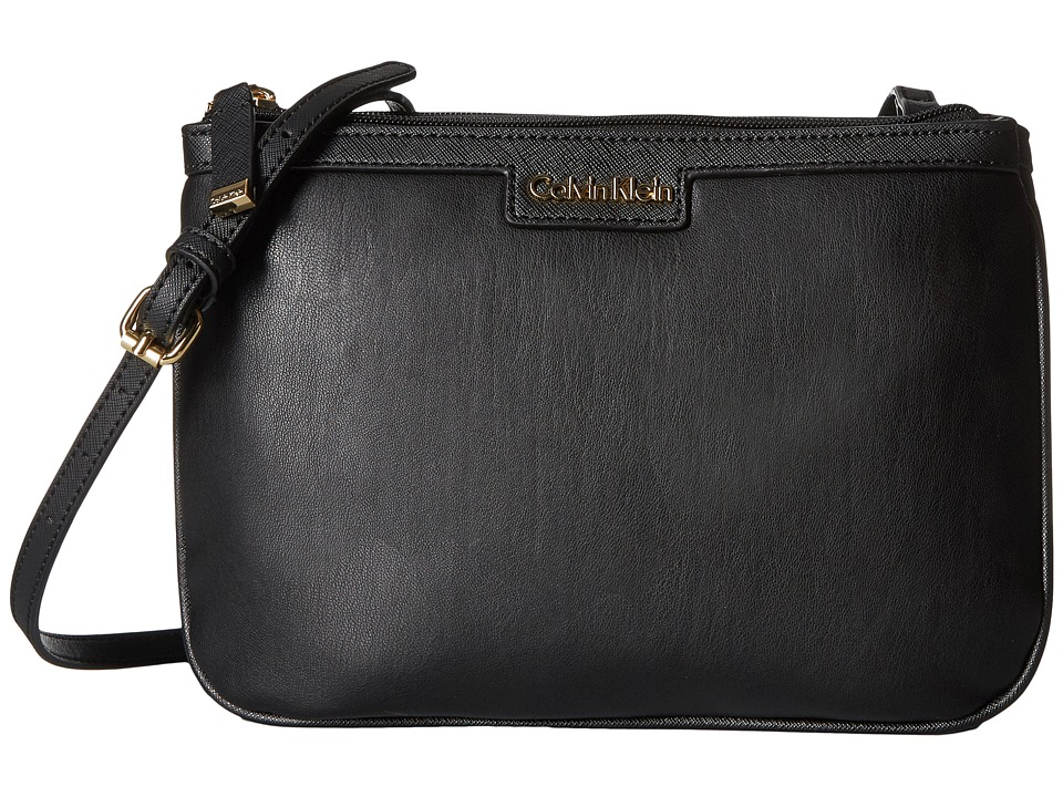 Calvin Klein - Gifting Fara Crossbody (Black/Black) Cross Body Handbags