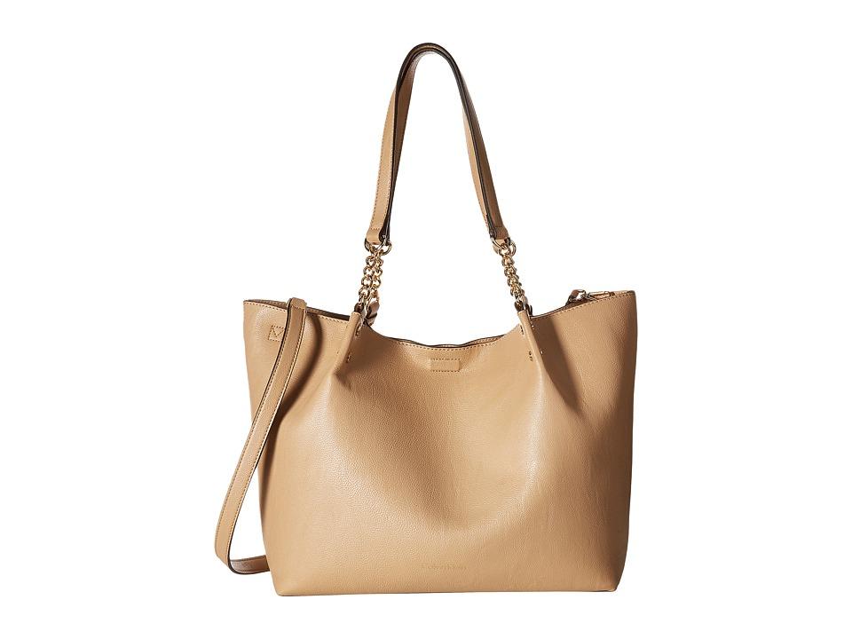 Calvin Klein - Reversible Pebble Tote (Nude) Tote Handbags