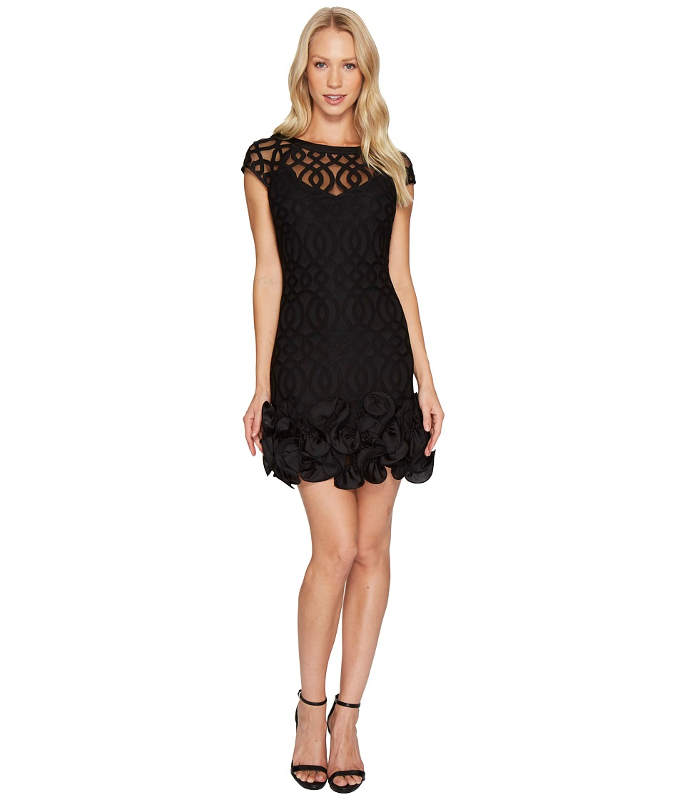 Jessica Simpson Ruffle Bottom Lattice Dress