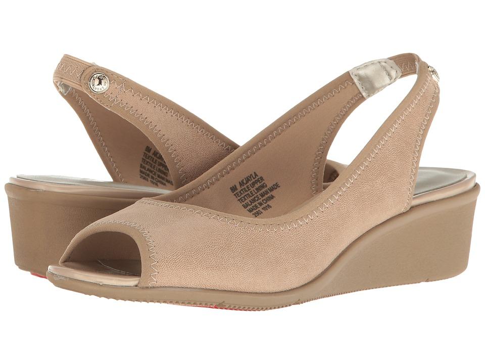 Anne Klein - Jayla (Light Natural/Light Natural Fabric) Women's Shoes