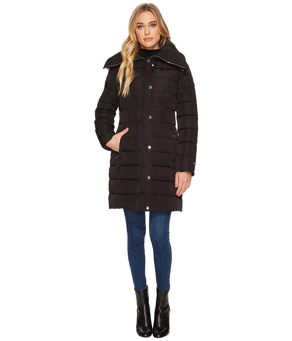 Tommy Hilfiger - 34 Puffer (Black) Women's Coat
