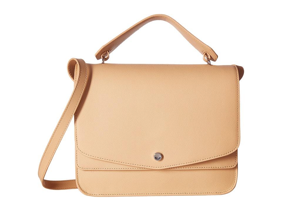 Elizabeth and James - Eloise Shoulder Bag (Natural) Handbags