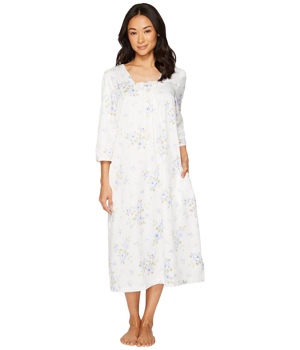 Carole Hochman - Brush Back Satin Pajama (Cascading Floral) Women\'s ...