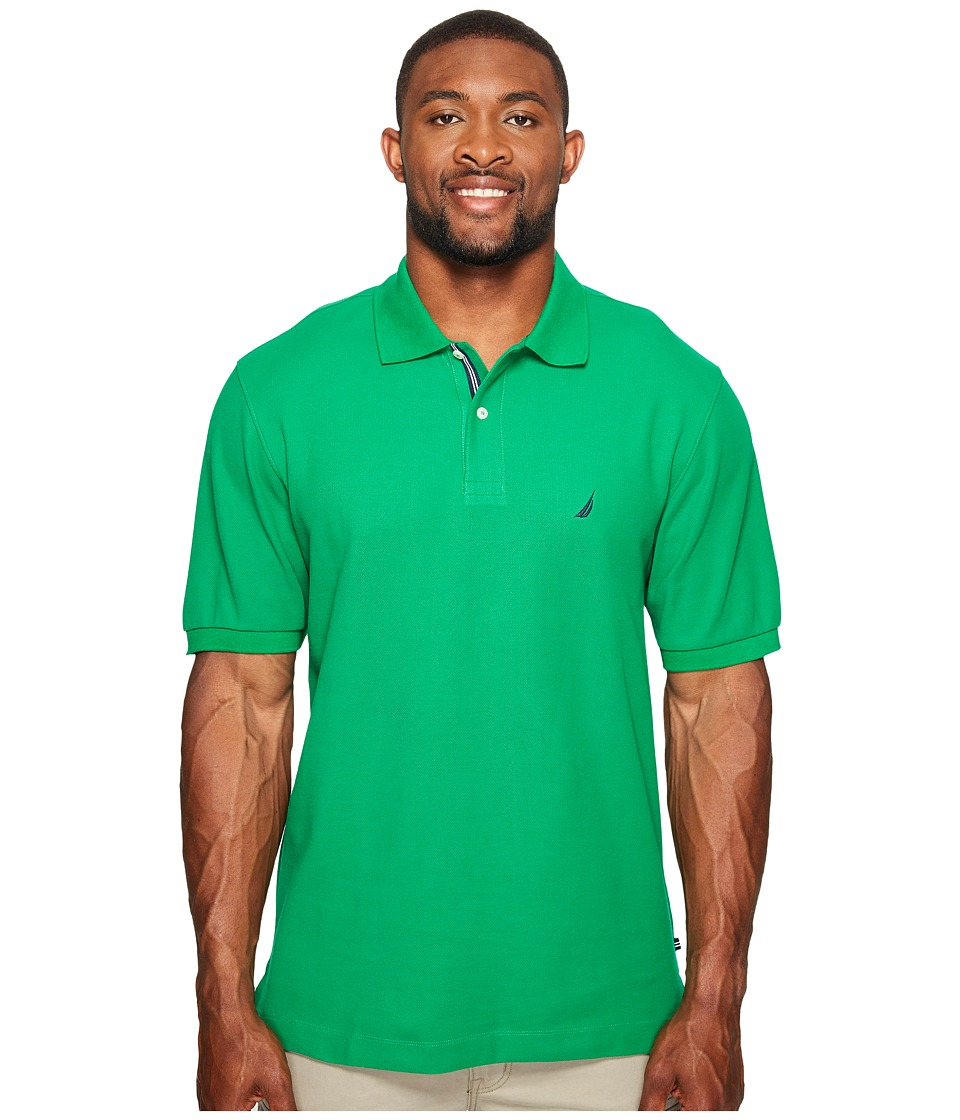 Nautica Big & Tall - Big Tall Short Sleeve Deck Shirt (Rolling Green) Men's Clothing