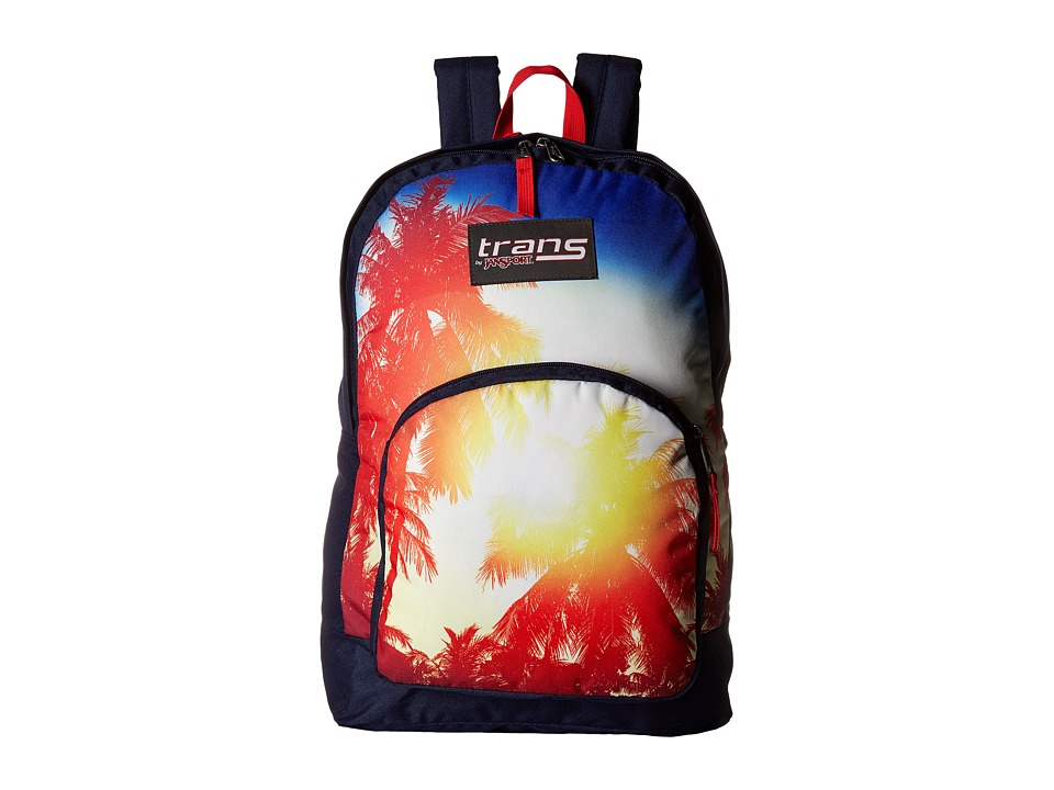 JanSport - Overt (Multi Palm Sunset) Backpack Bags