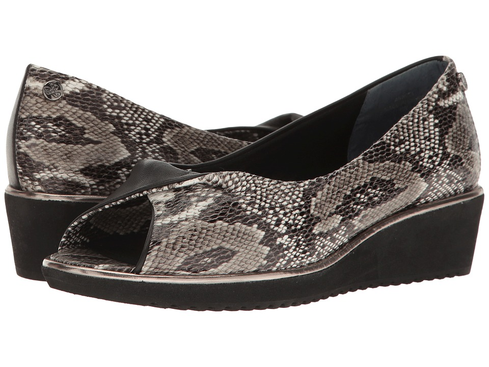 J. Renee - Annita (Black/White) Women's Shoes