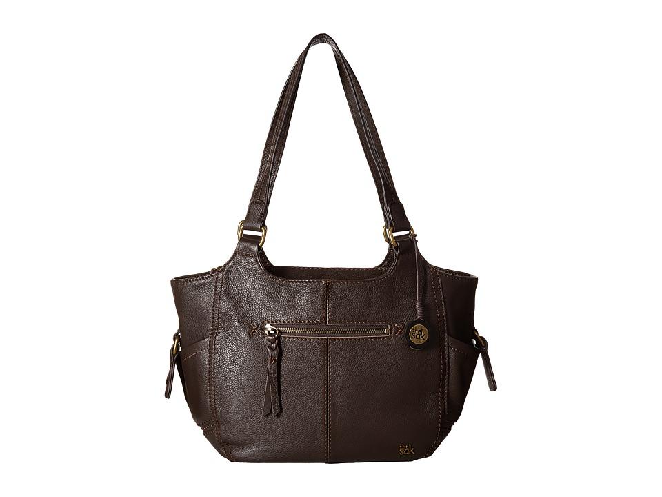 The Sak - Kendra Satchel (Cocoa) Shoulder Handbags