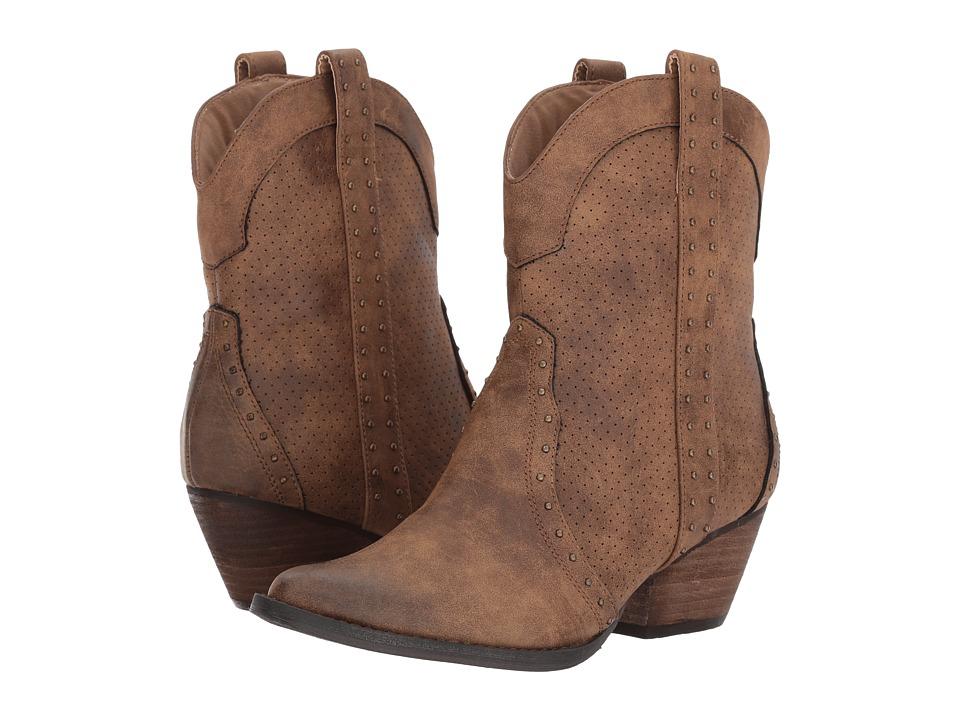 VOLATILE Montez (Taupe) Cowboy Boots